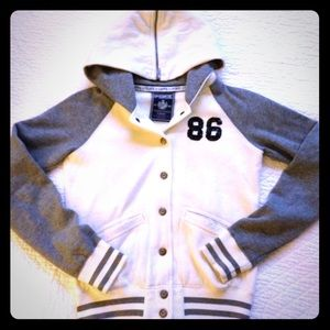 VS pink Victoria secret varsity jacket bling